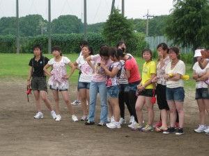 饭岛制本垒球大会1